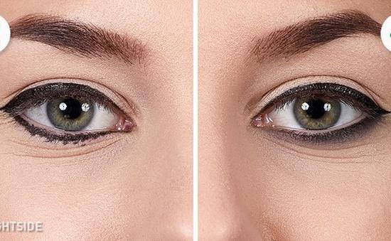 10 lỗi cơ bản khiến bạn không có đường kẻ mắt đẹp