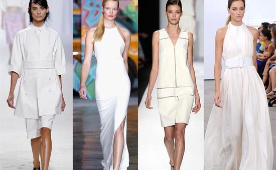 Đừng bao giờ quên, ai cũng nên có trang phục trắng trong tủ áo