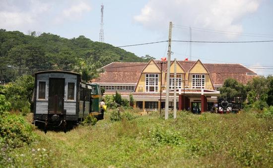 Chính phủ đồng ý cải tạo tuyến đường sắt Đà Lạt - Trại Mát