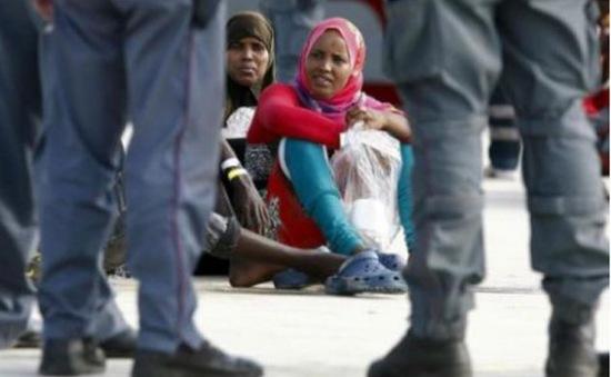 UNICEF báo động tình trạng bóc lột phụ nữ và trẻ em di cư từ Bắc Phi