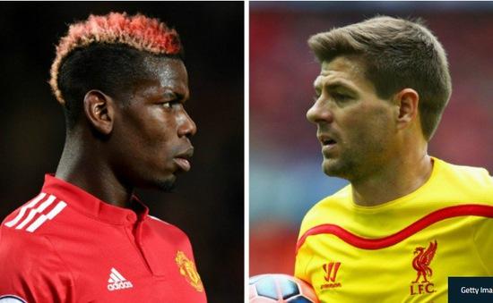 """""""Pogba còn lâu mới sánh được với Gerrard"""""""