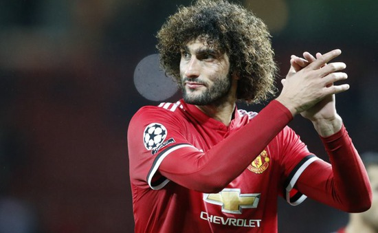 Fellaini từ chối Man Utd, trút bầu tâm sự với Mourinho