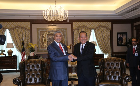 Việt Nam - Malaysia đẩy mạnh hợp tác về quốc phòng, an ninh