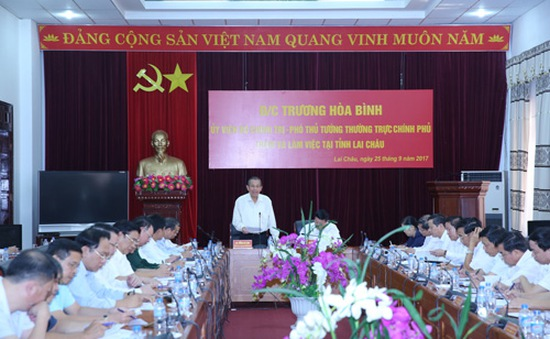 Đề nghị tỉnh Lai Châu cần tiếp tục thực hiện tốt cải cách hành chính
