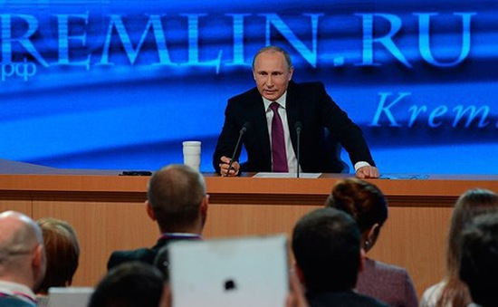"""Họp báo cuối nhiệm kỳ của Tổng thống Nga Putin sẽ """"rất đặc biệt"""""""
