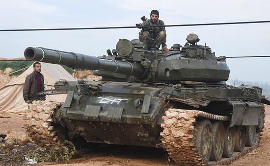 Thu hẹp diện tích IS chiếm đóng tại Raqqa, Syria