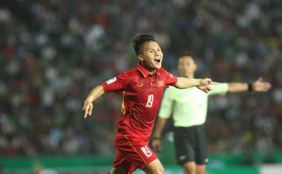 VIDEO: Quang Hải sút xa tuyệt đẹp tung lưới U23 Myanmar