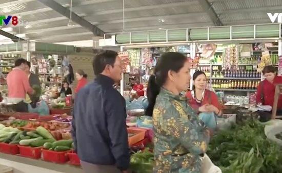 Rau xanh, thực phẩm sau Tết giảm giá