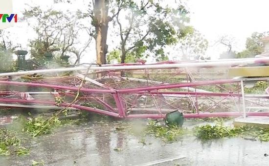 Quảng Bình thiệt hại nặng nề sau bão số 10