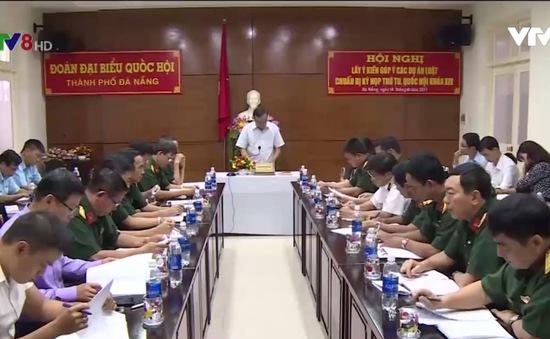 Đà Nẵng: Lấy ý kiến góp ý dự thảo Luật Quốc phòng (sửa đổi)