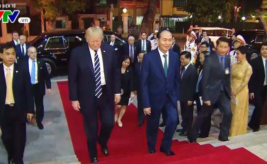 Quốc yến chào mừng chuyến thăm của Tổng thống Hoa Kỳ Donald Trump