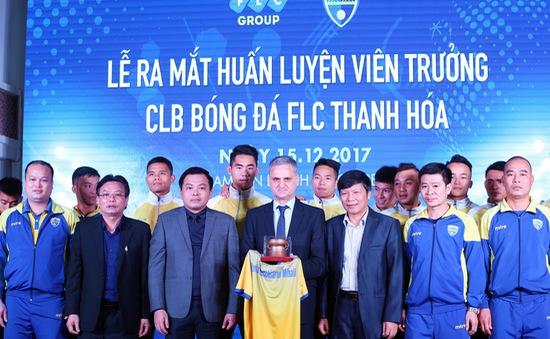 FLC Thanh Hóa chính thức ra mắt người kế nhiệm HLV Petrovic, đặt mục tiêu top 3