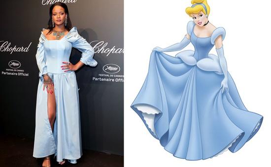 """Những lần Rihanna """"đốn tim"""" khán giả với ngoại hình tựa công chúa Disney"""