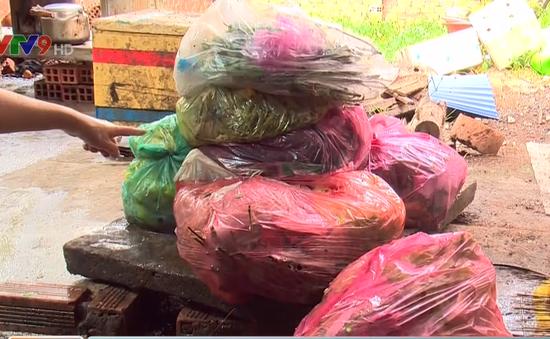 TP.HCM: Nhiều ngày không thu gom, rác thải tràn ngập khu dân cư