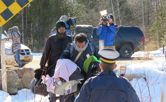 Canada tăng cường an ninh cửa khẩu để ngăn chặn người di cư