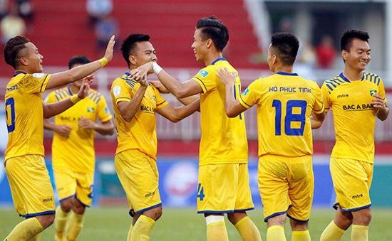 Chung kết lượt đi cúp Quốc gia 2017: Thắng B. Bình Dương 2-1, SLNA giành lợi thế lớn