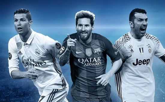 ĐHTB Champions League 2016/17: Không thể thiếu Ronaldo, Messi, Buffon