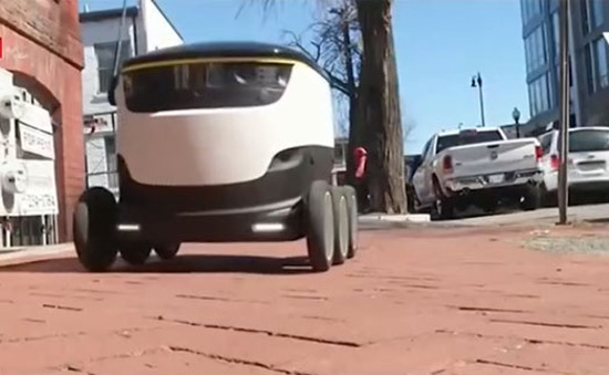 Postmates - Robot chuyển hàng độc đáo