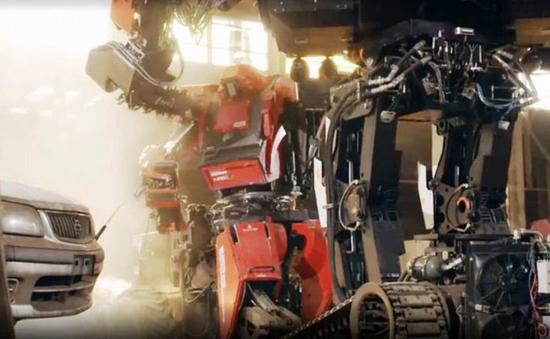 Đại chiến robot khổng lồ ngoài đời thực