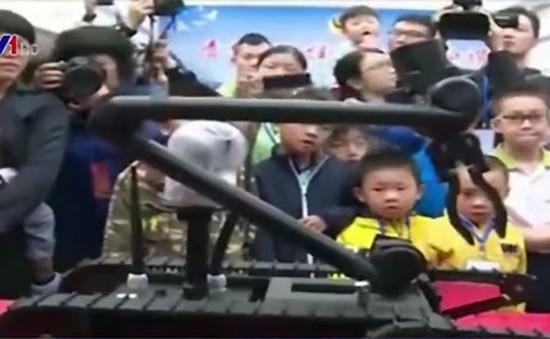 Trung Quốc triển khai lực lượng robot tháo bom tại các nhà ga