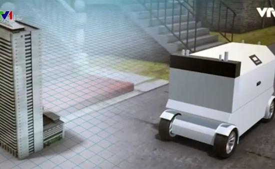 Thử nghiệm robot giao đồ ăn tại Mỹ