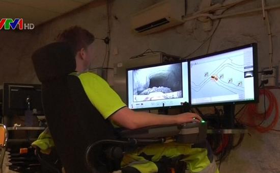 Thụy Điển: Thí điểm mô hình khai thác quặng bằng robot tự động