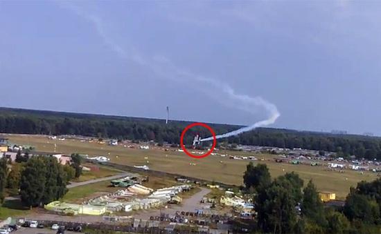 Nga: Rơi máy bay ở triển lãm hàng không, 2 người thiệt mạng