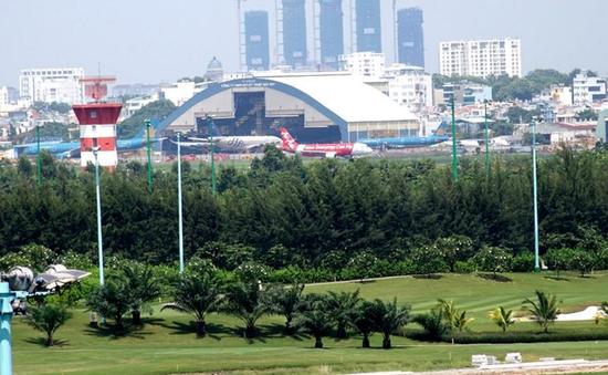 Ngừng thi công các hạng mục trong sân golf Tân Sơn Nhất