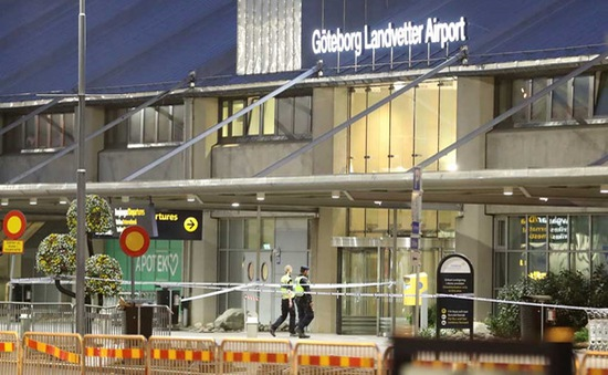 Phát hiện túi đồ khả nghi ở một sân bay Thụy Điển