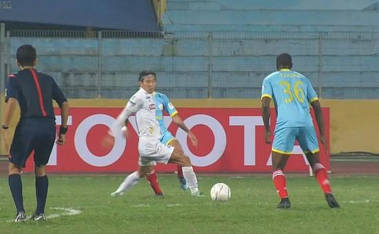 Mekong Cup 2017: Sanna Khánh Hòa BVN chia điểm đáng tiếc trước Boeung Ket Angkor