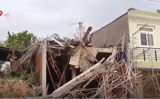 Kiên Giang: Sập nhà đang xây, 5 người bị thương