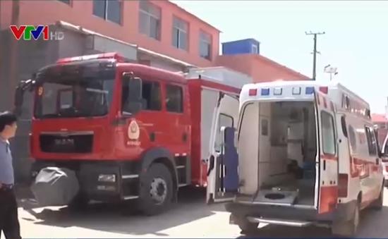 Sập nhà tại Trung Quốc, 6 người thiệt mạng