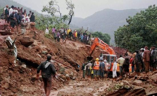 Sạt lở đất tại Cao Bằng, 1 người tử vong