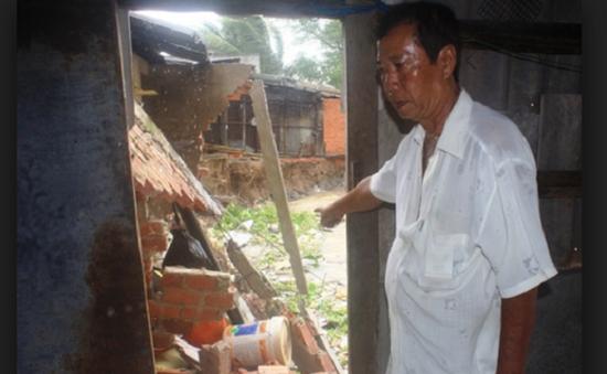 Di dời khẩn cấp tại khu vực sạt lở bờ sông ở Vĩnh Long