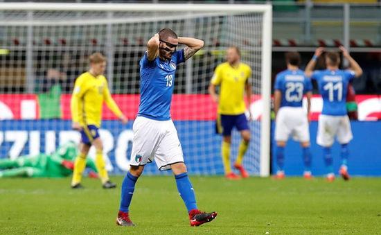 Sau 60 năm, Italia lần đầu tiên vắng mặt ở World Cup
