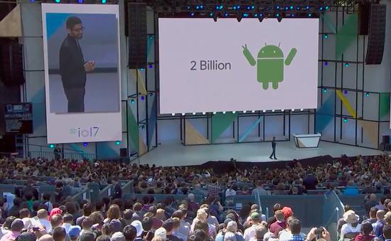 Hơn 2 tỷ thiết bị đang chạy hệ điều hành Android