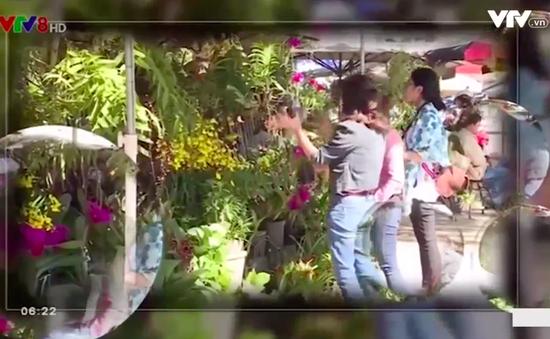 Chợ hoa Đà Lạt - Nơi ghi nhịp sống phố núi