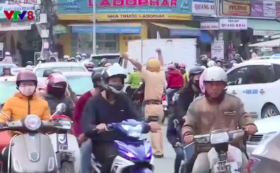 Xử lý ùn tắc giao thông đô thị Đà Lạt