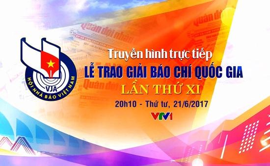 THTT Lễ trao Giải Báo chí Quốc gia lần thứ XI (20h10, VTV1)
