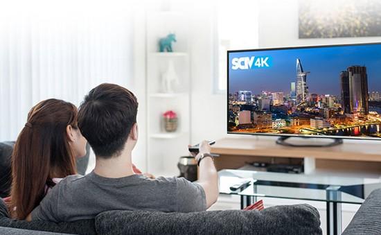 SCTV đưa nội dung 4K siêu nét lên sóng truyền hình