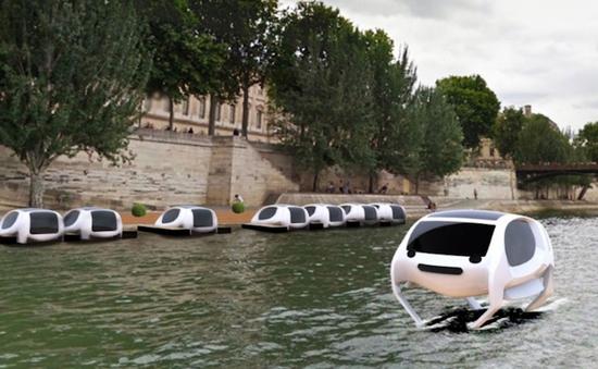 Pháp sắp xuất hiện taxi bay đầu tiên trên mặt nước