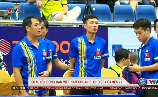 Đội tuyển Bóng bàn Việt Nam hướng tới SEA Games 29