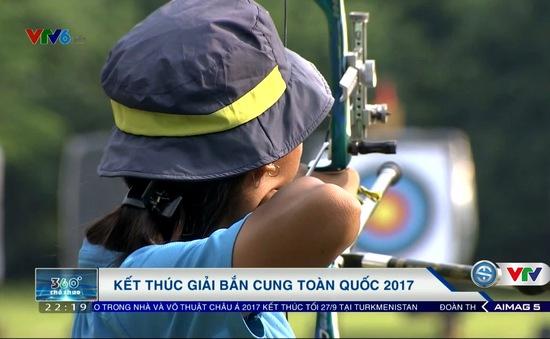 Kết thúc giải bắn cung toàn quốc 2017: Đoàn Hà Nội nhất toàn đoàn