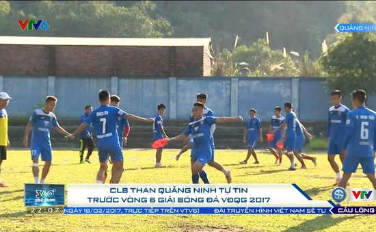 Vòng 6 V.League 2017: Than Quảng Ninh tự tin đón tiếp SLNA