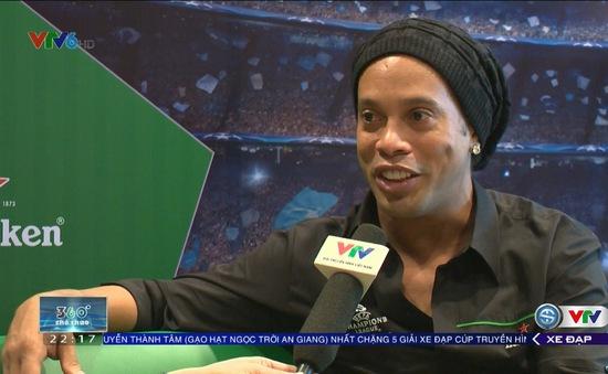 VIDEO: Thể Thao VTV và cuộc trò chuyện cùng danh thủ Ronaldinho