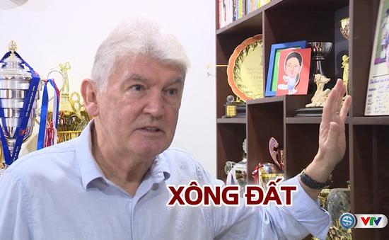 Xông nhà HLV Steve Darby, chàng rể Việt Nam
