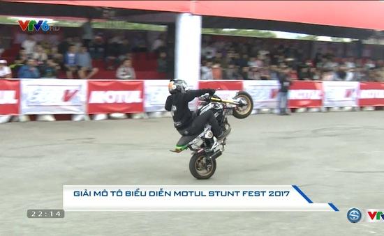 Giải mô tô biểu diễn Motul Stunt Fest 2017
