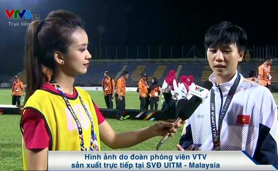 """Tuyển thủ nữ Tuyết Dung: """"Xúc động vì vẫn có nhiều NHM đồng hành cùng bóng đá nữ"""""""