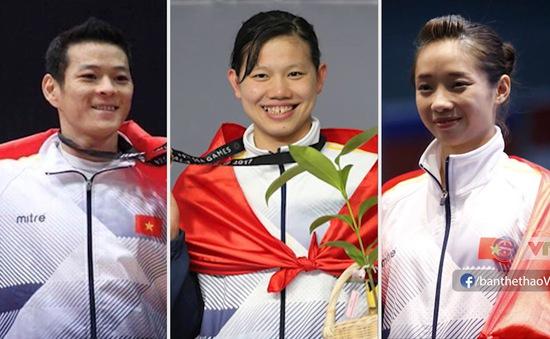3 VĐV ấn tượng của Thể thao Việt Nam trong năm 2017