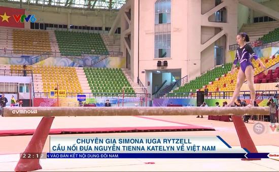 Simona Iugarytzell - cầu nói đưa nguyễn Tienna Katelyn về Việt Nam